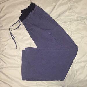 Medium women's Scrubstar grey scrub pants